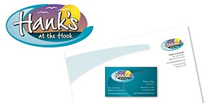Hank's at the Hook Corporate ID Package