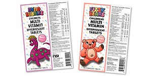 NSI Childrens Vitamin Labels