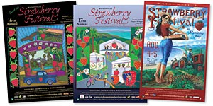 Watsonville Strawberry Festival Poster