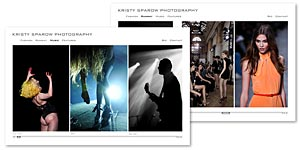 Kristy Sparow Photography Website