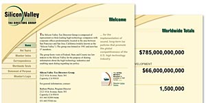 Silicon Valley Tax Directors Group Website
