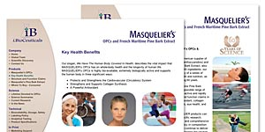 i.BioCeuticals' Masquelier's Website