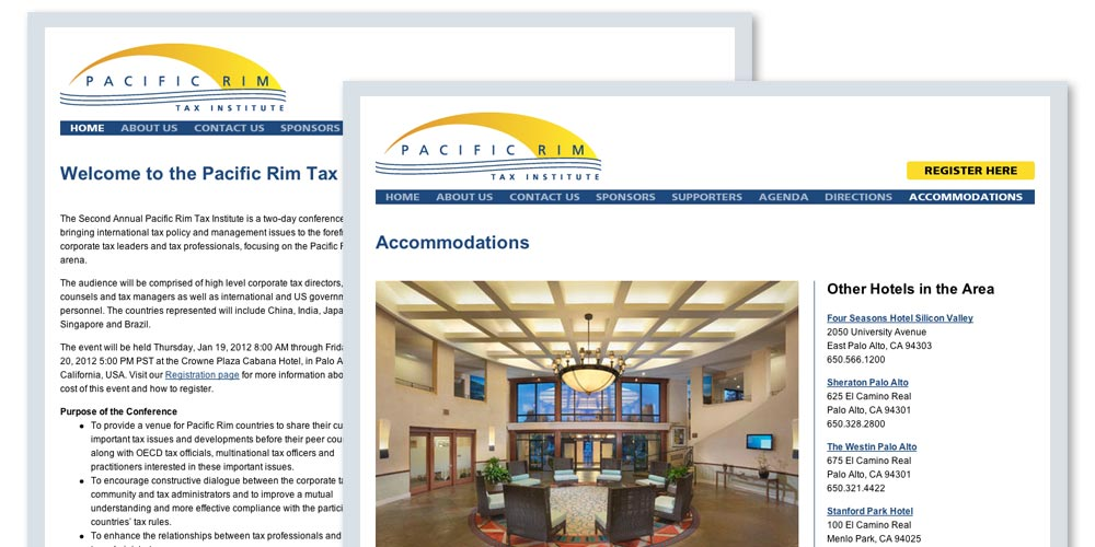 Pacific Rim Tax Institute Website